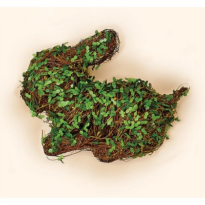 Worth Imports 10 Leaves Rabbit Twig décor, GreenBrown