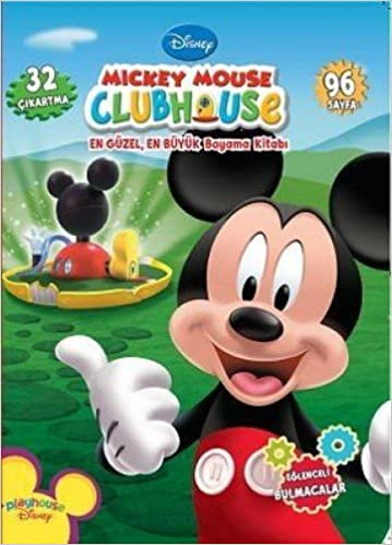 M73ckey Mouse Clubhouse En Güzel En Büyük Boyama Kitab73