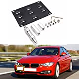 Front Bumper Tow Hook License Plate Mount Bracket for BMW Mini Cooper F10 F22 F30 F31 2 3 5 Series