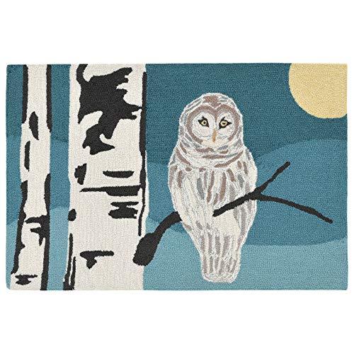 Liora Manne Whimsy Evening Wisdom Rug, Night, Indoor/Outdoor, 24
