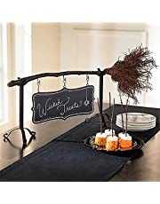 Broomstick Snack Bowl Stand, Removable Witch Hat Bowl Halloween Decor, Creative Candy Holder, for Serving Salad, Dessert, for Festival Wedding Party Halloween Snack Tray