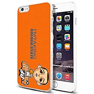NBA Golden State Warier Cartoon Stephen Curry , , Cool iphone 6 Smartphone Case Cover Collector iphone TPU Rubber Case White [By PhoneAholic]