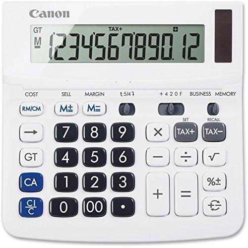 Canon TX220TSII Desktop Calculator 12-Digit White -