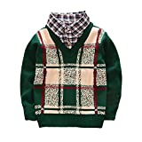 Product review for Toddler Baby Boy Cable Knit Pullover Sweater 2-5t Little Kid Gentleman