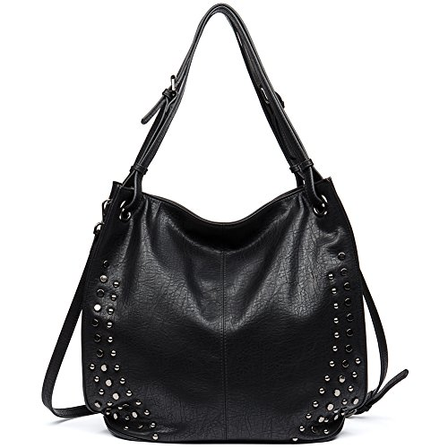 CLEARANCE Leather Women Top Handle Handbags Tote Purse ()