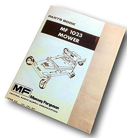 Amazon.com: Massey Ferguson MF 1023 partes para cortacésped ...