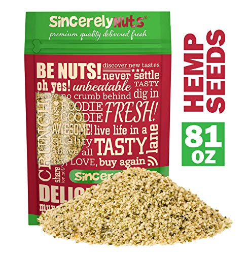 Sincerely Nuts Hulled Hemp Seeds