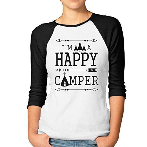 i-m-a-happy-camper-womens-funny-3-4-sleeve-baseball-tee-shirts-baseball-jerseys