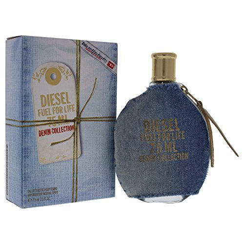 Diesel Fuel for Life Denim Edition Eau De Toilette Spray for Women, 2.5 Ounce (Collection Diesel)