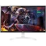 """LG - 27UD69P-W 27"""" IPS LED 4K UHD FreeSync Monitor - Black/white"""