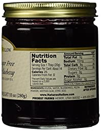 Nature\'s Hollow Wild Blueberry Sugar-Free Jam Preserves , 10 oz