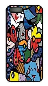 Art 15 Custom iPhone 5s/5 Case Cover Polycarbonate Black