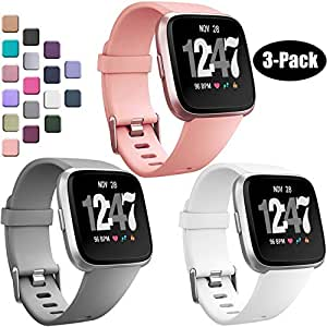Amazon.com : Wepro Bands Compatible with Fitbit Versa