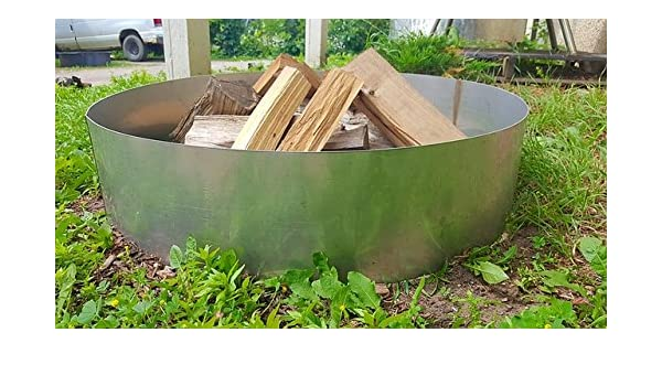 Stainless Steel Fire Pit Ring Insert Liner 24