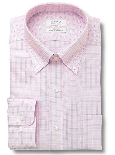 Enro Button Down Dress Shirt (Enro Big-Tall Towncreek Button Down Non-Iron Dress Shirt (Pink, 19 36/37))