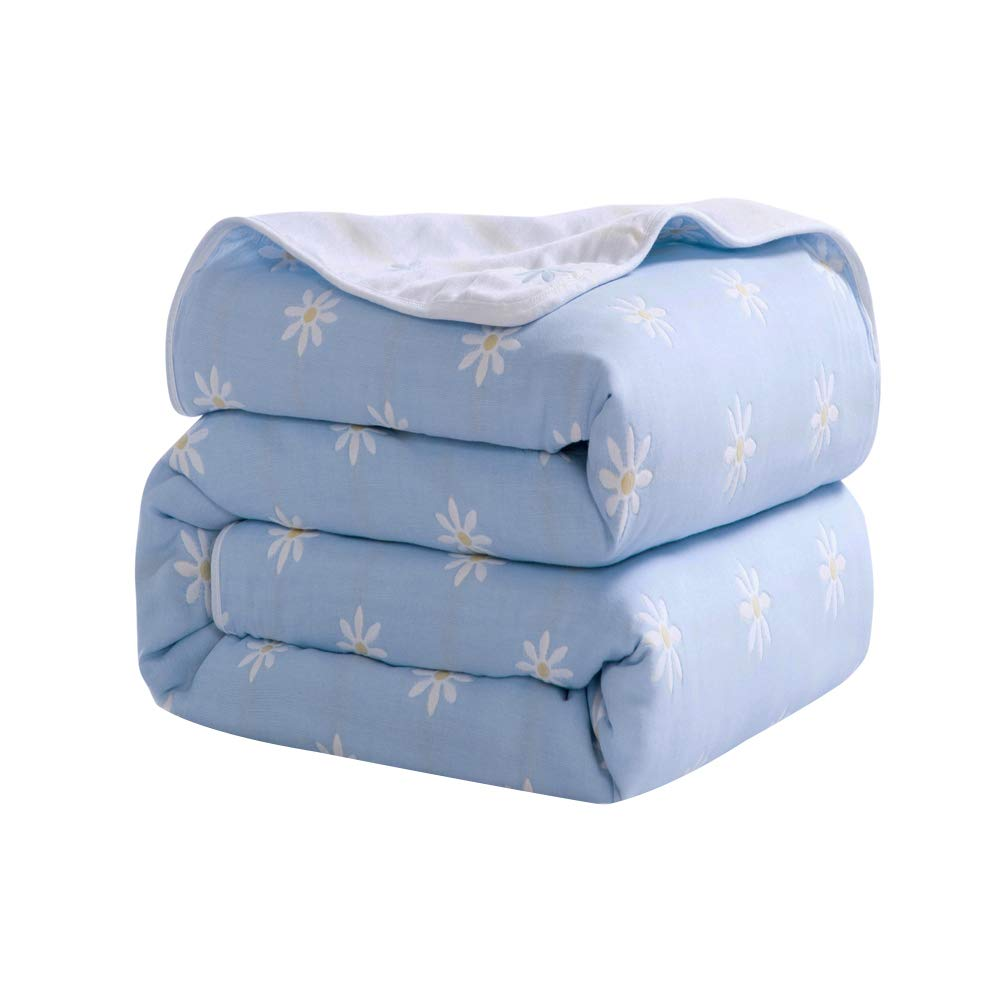 Mountain home textile Six-Layer Gauze Towel is Thickened by AB Double-Faced Summer air-Conditioning is a Cotton Double-Layer Single Towel Blanket