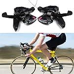 Set-Leva-Freno-Bici-Leva-Freno-Mountain-Bike-Indicatore-di-Visualizzazione-della-velocita-Ottica-Visibile-con-Cavo-Freno-3-velocita-Lato-Sinistro-8-velocita-Lato-Destro