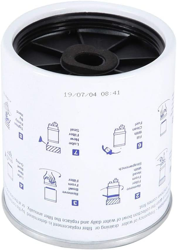 Fuel Water Separator,S3227 Engine Fuel Filter//Water Separator Fuel Water Separator Filter for Ship Yacht Outboard