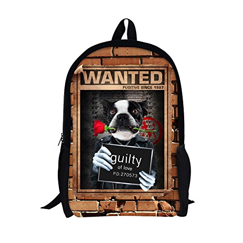 Naughty & Nice Teen Costumes (TOREEP Bad Boys Girls Creative Animal School Backpack Bookbag for Teens(Big))