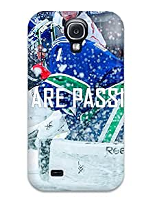 For Galaxy S4 Premium Tpu Case Cover Vancouver Canucks (70) Protective Case