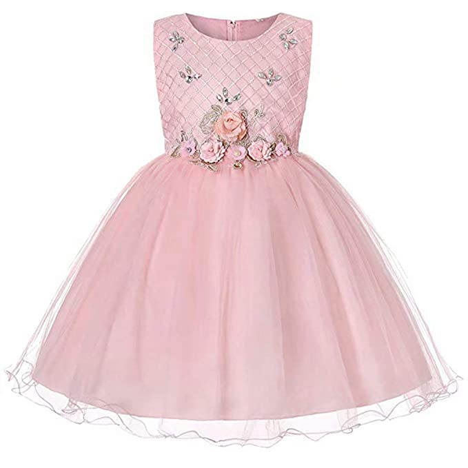 dc2591e91 Amazon.com: Girls Dresses Party Wedding Lace Flowers Girl's Special ...