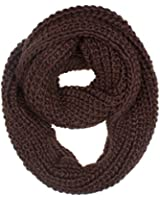 DRY77 Forever Chunky Thick Knitted Fashion Winter Eternity Infinity Loop Scarf