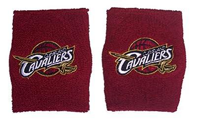NBA 2014 Cleveland Cavaliers 2-Pack Team Logo Wristbands/Sweatbands - Maroon