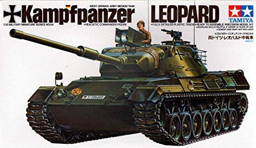 Series 1 Miniature (Tamiya 1/35 Military Miniature Series No.64 West Germany Leopard Medium Tank 35064)