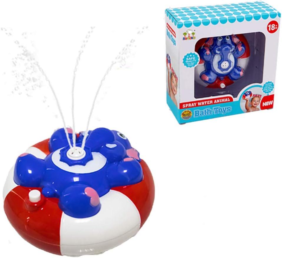 WISHTIME Spray Wasser Baby Badespielzeug Wasserpumpe Elektronische Spray Spielzeug Float Drehen Mit Brunnen Schwimmende Badewanne Dusche Bad Spielzeug F/ür Baby Kleinkind Infant Kid Party Pinguin