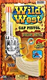 JA-RU Wild West Gun Pistol Diecast Metal Replica. (Pack of 1)