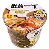 xo chili sauce - 出前一丁Nissin XO Sauce Seafood Flavor Ramen Noodle Bowl, 4.69 oz (pack of 12)