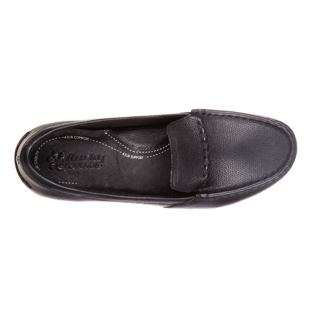 4EurSole Alto Womens Black Loafer