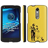 Motorola Droid Turbo 2 Phone Cover, Dorothy - Black Slim Guard Armor Phone Case for Motorola Droid Turbo 2 / Moto X Force 2 / Kinzie Bounce XT1585
