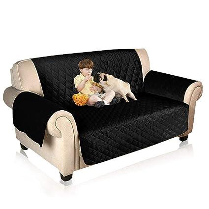 KOBWA - Funda Impermeable para sofá o Gato de Perro, Reversible, Grande, con
