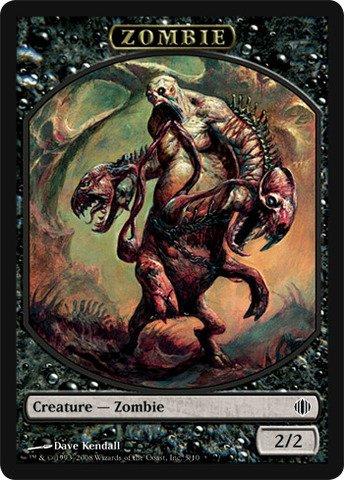 - Magic: the Gathering - Zombie Token - Shards of Alara