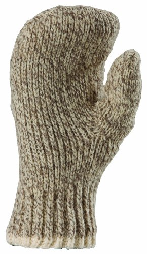 extra large wool mittens - 1