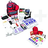 Bundle & Save | Emergency Zone 2 Person Family Prep 72 Hour Survival Kit + Deluxe Child Emergency Go Bag | Perfect Way to Prepare Your Family | Be Ready for Disasters like Hurricanes & Earthquakes