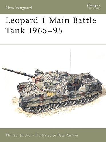 Leopard 1 Main Battle Tank 1965–95 (New Vanguard) ()