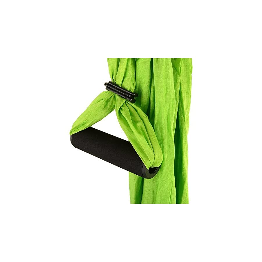 INTEY Aerial Yoga Flying Yoga Swing Yoga Hammock Trapeze Sling Inversion Tool for Gym Home Fitness (No Ceiling Anchors)