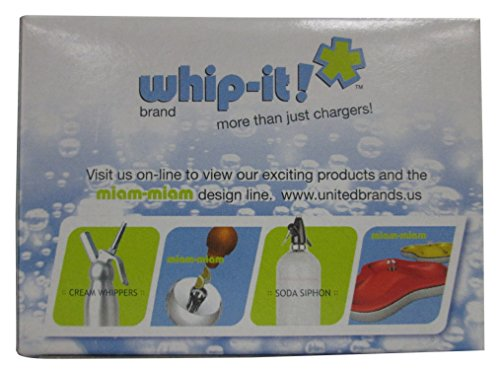 Whip It Brand CO2 Chargers 10 Pack