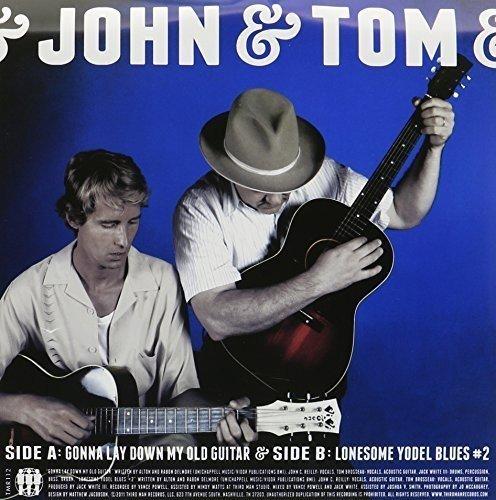 Vinilo : John & Tom ( Reilly, John C & Brosseau, Tom ) - Gonna Lay Down My Old Guitar/ Lonesome Yodel Blue (7 Inch Single)