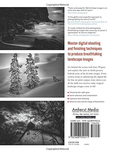 Digital black white landscape photography fine art techniques from camera to print gary wagner 9781608959211 amazon com books