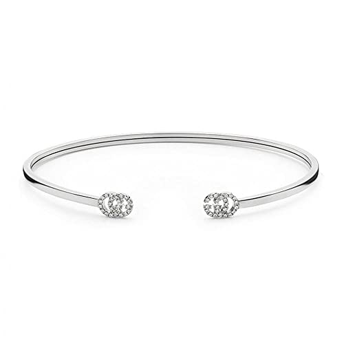 103e522c4 GUCCI Bracelet White Gold Running G YBA481662002017: Amazon.ca: Jewelry