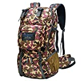 Mountaintop 40 Liter Hiking Backpack for Outdoor Camping with Rain Cover-5812II