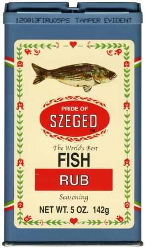 - Fish Rub Seasoning (szeged) 5oz (142g)
