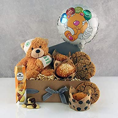 Get Well Gifts - Get Well Soon Hugs - Fast UK Delivery for Hospital Gifts Amazon.co.uk Grocery & Get Well Gifts - Get Well Soon Hugs - Fast UK Delivery for Hospital ...