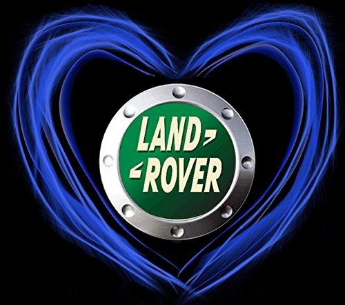 Land Rover Love Logo AUTO FUN T-SHIRT -774