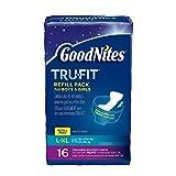 Goodnites Durable Underwear Refills Unisex Large/X-Large, 16-Count