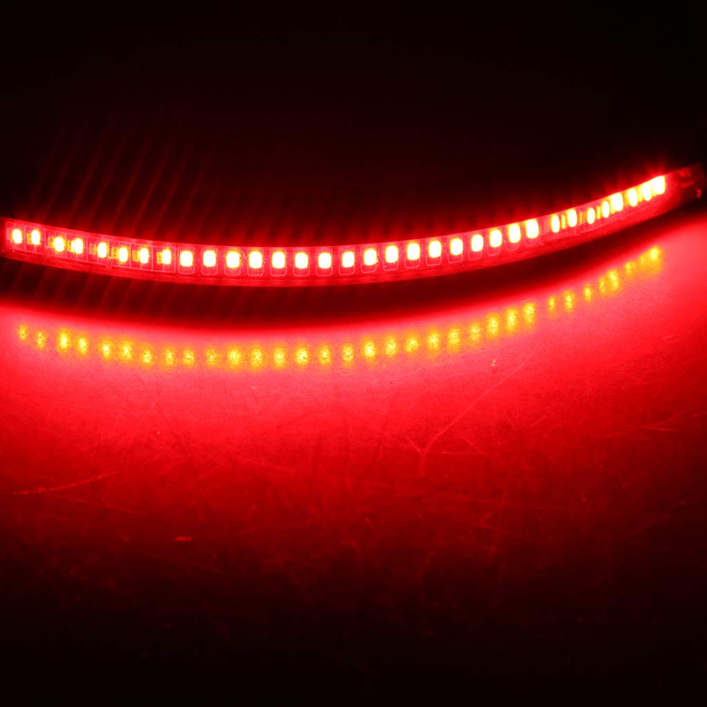 Piatto 230mm Homyl Cerchio Retro Telaio Posteriore Loop Con LED Fanale Per Moto Yamaha BMW