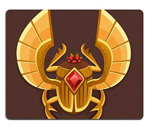 luxlady-gaming-mousepad-image-id-39097280-icon-golden-scarab-vector-illustration